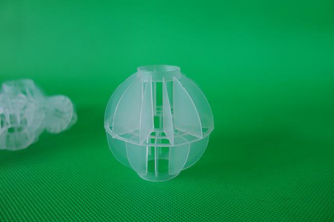 在水处理中多面空心球有什么作用