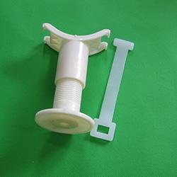 曝气管调节支架 曝气管固定调节支架不锈钢支架 螺杆支架