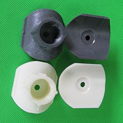 曝气头 曝气器配件 塑料马鞍座弧形接嘴 转接头代三通变径PVC/ABS